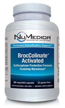 NuMedica BrocColinate Activated - 60c professional-grade supplement