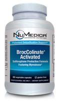 NuMedica BrocColinate Activated - 60c professional-grade supplement