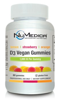 NuMedica D3 Vegan Gummies - 60g professional-grade supplement