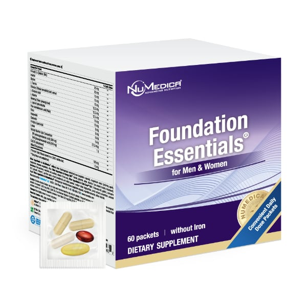 NuMedica Foundation Essentials for Men and Women 60 packets