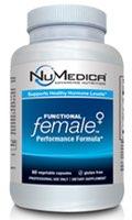 NuMedica Functional Female - 60 Capsule professional-grade supplement