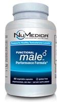 NuMedica Functional Male - 60 Capsule professional-grade supplement