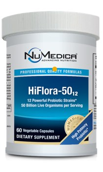 NuMedica HiFlora-50 - 60 capsule professional-grade supplement