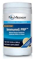 NuMedica ImmunoG PRP Chocolate - 30 servings professional-grade supplement