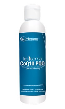NuMedica Liposomal CoQ10 + PPQ - 6 oz professional-grade supplement