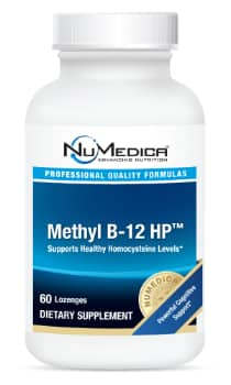 NuMedica Methyl B-12 HP - 60 lozenge professional-grade supplement