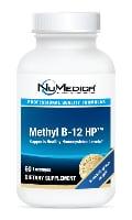 NuMedica Methyl B-12 HP - 60 lozenge professional-grade supplement