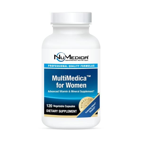 NuMedica Foundation Essentials for Women includes NuMedica MultiMedica for Women