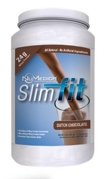 NuMedica SlimFit Chocolate - 21 Servings professional-grade-supplement