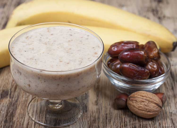 Nutty Monkey Smoothie recipe image
