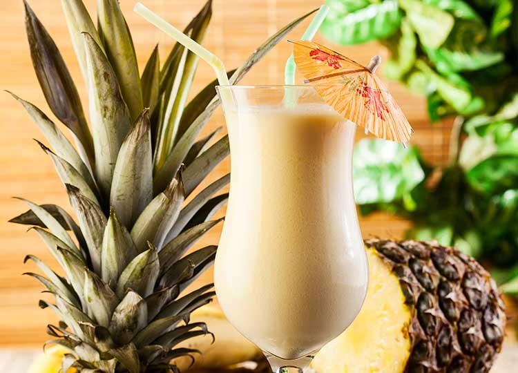 Pina Colada Smoothie recipe image