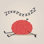 sleeping brain cartoon