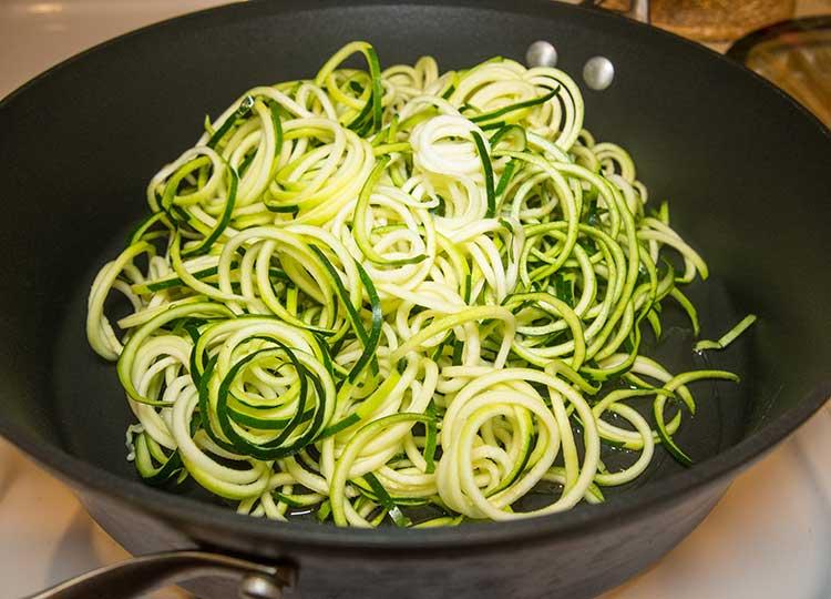 Zucchini Marinara Pasta recipe image
