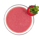 Summer Paradise Shake with NuMedica Power Reds Strawberry-Kiwi, Liposomal Vitamin C and GlutaMed.