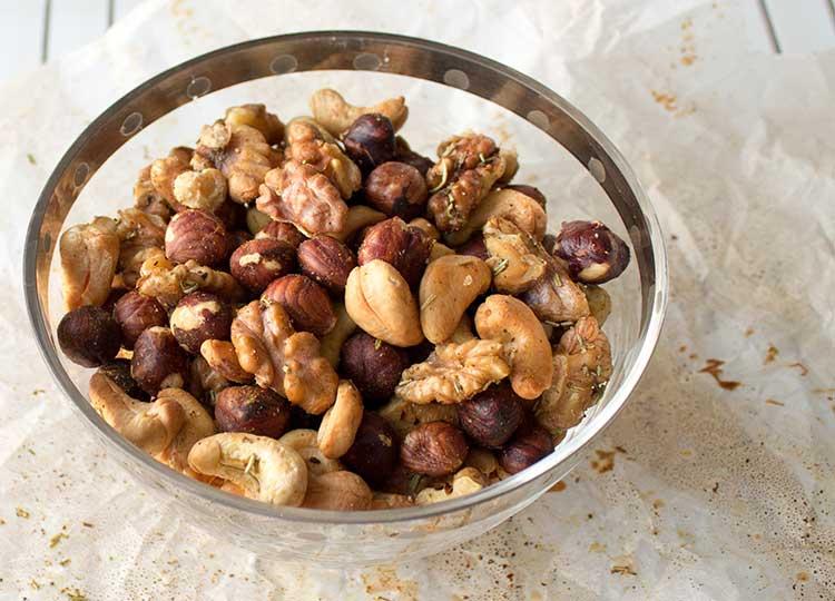 Cajun toasted assorted nuts recipe