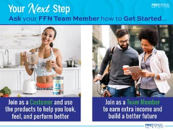 your next step is to contact your first fitness team member to get started in their network marketing opportunity